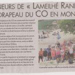 La Dépêche Calanques 07.06.18 Castres Lameilhé Rando