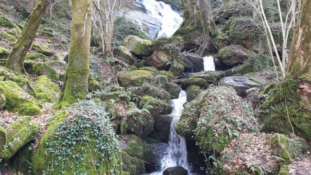 Escoussens, cascade de Mouscaillou