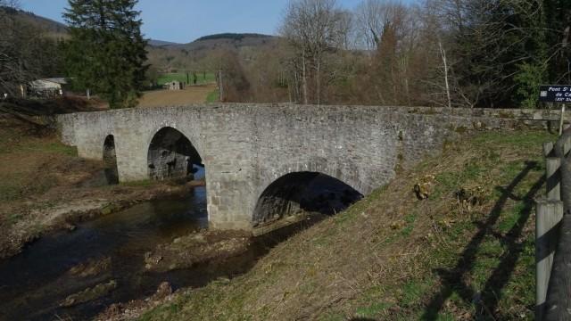La Salvetat sur Agout, voie d'Arles, Bonnabou