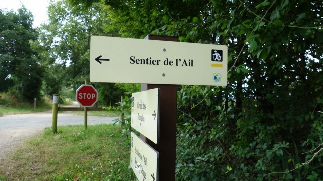 Lautrec, ch. de l'ail, voie verte